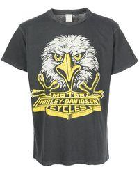 """MadeWorn T-Shirt mit """"Harley Davidson""""-Print - Schwarz"""