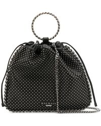 Balmain - Studded Bucket Bag - Lyst