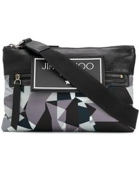 Jimmy Choo Sac porté épaule Kimi - Gris