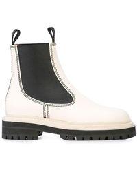 Proenza Schouler Chelsea Boots - White
