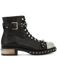 Alexander McQueen - Studded Boots - Lyst