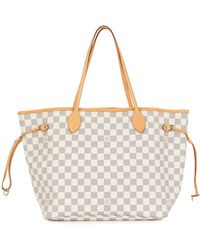 Louis Vuitton Borsa tote Neverfull MM 2010 Pre-owned - Multicolore