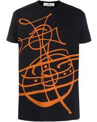 Vivienne Westwood Anglomania グラフィック Tシャツ - ブラック
