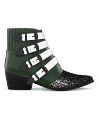 Toga Aj006 Boots - Green