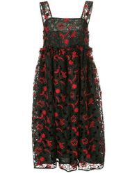 Shrimps - Lucia Embroidered Full Dress - Lyst