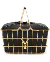 SAVAS - Large 'caroline' Basket Bag - Lyst