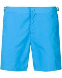 Orlebar Brown Short de bain classique - Bleu