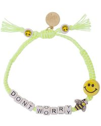 Venessa Arizaga - Don't Worry Bracelet - Lyst
