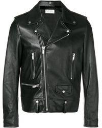 Saint Laurent - Slim Biker Jacket - Lyst