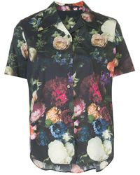 Adam Lippes Floral Print Shirt - Multicolor
