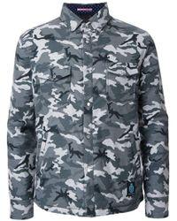 Guild Prime - Camouflage Padded Shirt Jacket - Lyst