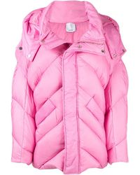 Acler Puffer Jacket - Pink
