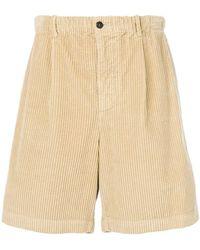 Ferragamo Corduroy Bermuda Shorts - Brown