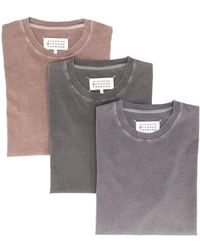 Maison Margiela - Tシャツ 3枚セット - Lyst