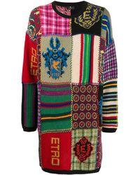 Etro - パッチワーク セーター - Lyst