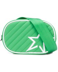 Perfect Moment Star Quilted Belt Bag - Green