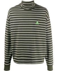 GR-Uniforma タートルネック セーター - グリーン