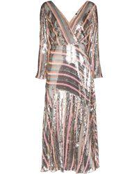 RIXO London Tyra スパンコール ドレス - ピンク
