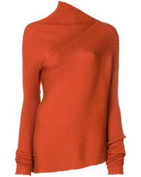 Marques'Almeida - Asymmetric Ribbed Sweater - Lyst