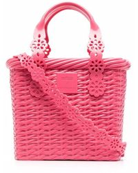 Viktor & Rolf X Melissa Basket Tote Bag - Pink