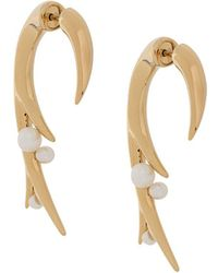 Shaun Leane Cherry Blossom Earrings - Metallic