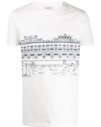 Lanvin Babar プリント Tシャツ - ホワイト