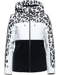 Aztech Mountain Ajax Colour-block Jacket - Black