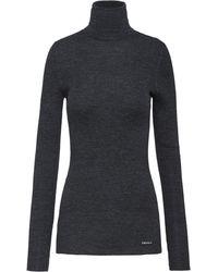 Prada タートルネック セーター - グレー