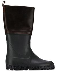0ef534b2bd8 Two-tone Hunting Boots - Brown