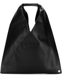 MM6 by Maison Martin Margiela Japanese Tote Bag - Black