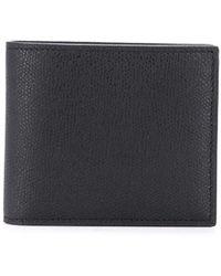 Valextra Smooth Square Wallet - Black