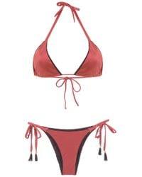 Brigitte Bardot - Triangle Top Bikini Set - Lyst
