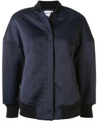Enfold オーバーサイズ ボンバージャケット - ブルー