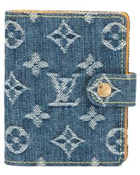 Louis Vuitton Pre-owned Mini Notebook Denim Cover - Blue