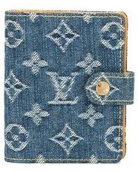 Louis Vuitton Custodia agenda mini - Blu