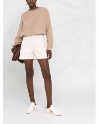 Styland コットン スウェットシャツ - ブラウン