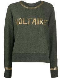 Zadig & Voltaire Champ セーター - グリーン