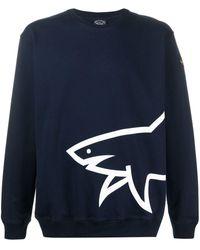 Paul & Shark - ロゴ スウェットシャツ - Lyst