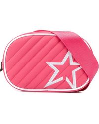 Perfect Moment Star Patch Quilted Belt Bag - Pink