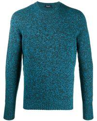 Drumohr メランジ セーター - ブルー