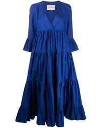 La DoubleJ Jennifer Jane Tiered Dress - Blue