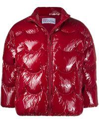 RED Valentino - パデッドジャケット - Lyst