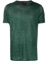 Avant Toi ラウンドネック Tシャツ - グリーン