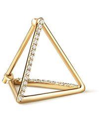 Shihara - Diamond Triangle Pierce 15 (02) - Lyst