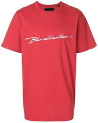 Blood Brother - Performance T-shirt - Lyst