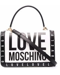 Love Moschino - ロゴ ショルダーバッグ - Lyst