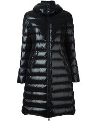 Moncler Пальто-пуховик 'moka' - Черный