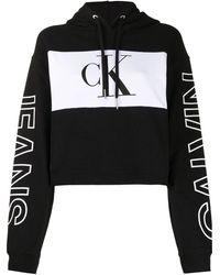 Calvin Klein Felpa con design color-block - Nero