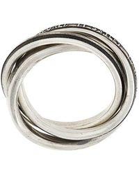 Werkstatt:münchen - Werkstatt:münchen Stylised Ring - Lyst