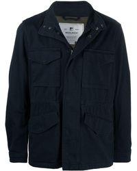 Woolrich ボンバージャケット - ブルー